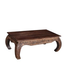 India - Old Furniture Mango Opium Table