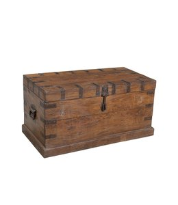 India - Old Furniture Old Teak Chest