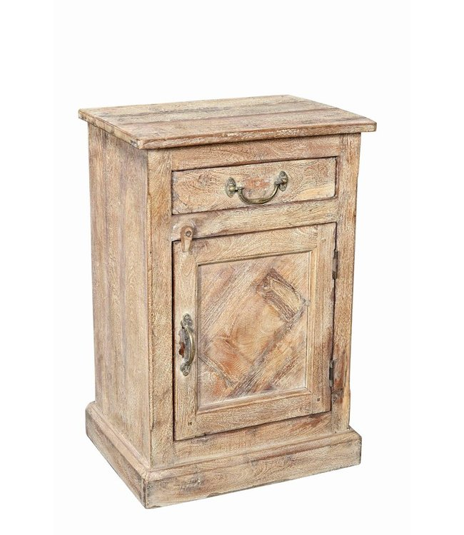 India - Old Furniture Reclaimed Teak Cabinet