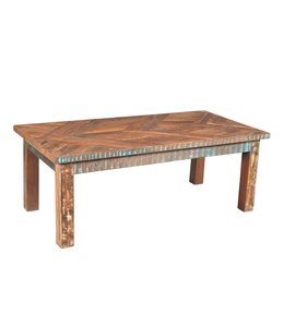 India - Old Furniture Reclaimed Teak Coffee Table