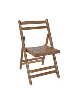 India - Handicrafts Original Colonial Folding Teak Chair