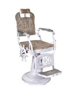 India - Old Furniture Original Hairdressing Chair