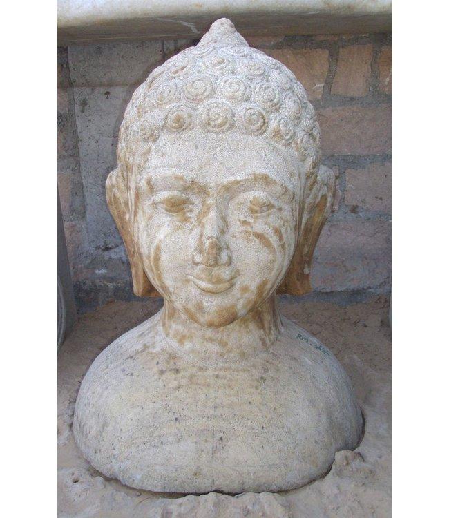 Rare Antique Stone Buddha