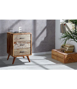 India - Reproduction Furniture Zen Acacia Three Drawer Cabinet