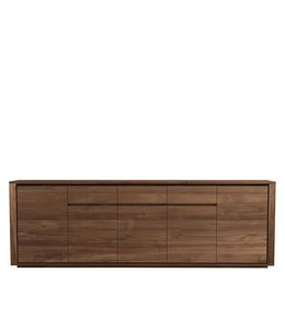 Teak Elemental sideboard - 5 doors / 3 drawers - FSC 100%  - New