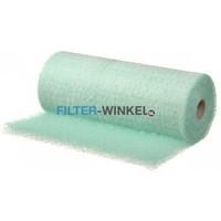 Filter-winkel Paintstop verfnevel groen filter op rol