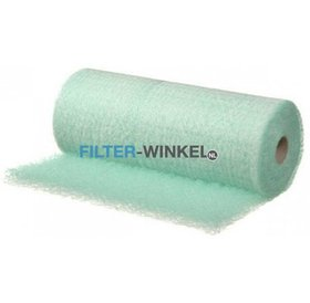 Filter-winkel Paintstop verfnevel groen filter op rol