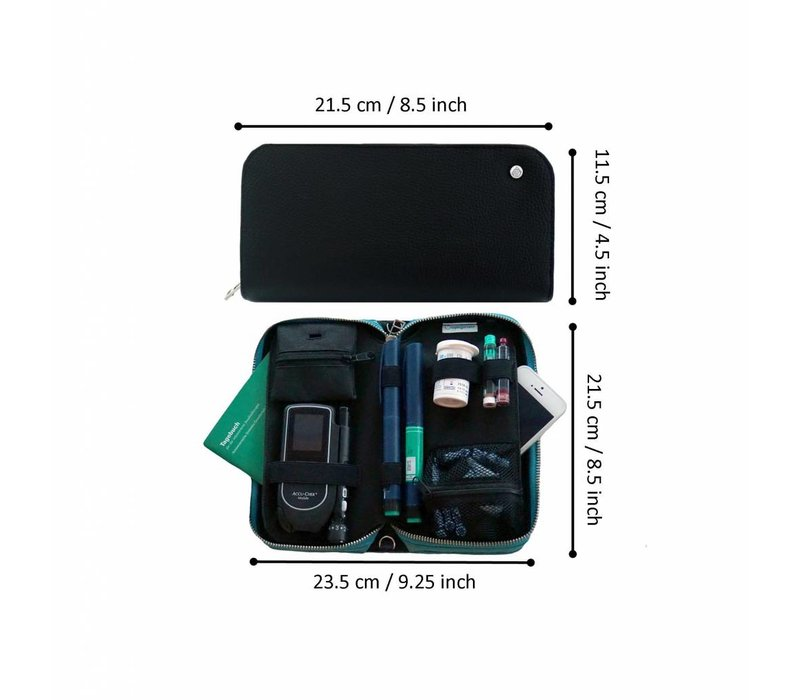 COMBI BLUE (COVER & INLAY)