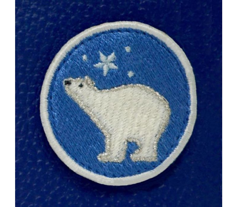 KIDS Case  - Blue Icebear (inkl. Patch)