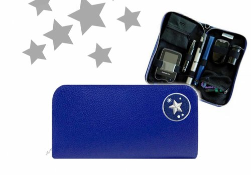 KIDS Case  - Blue STAR (incl. Patch)