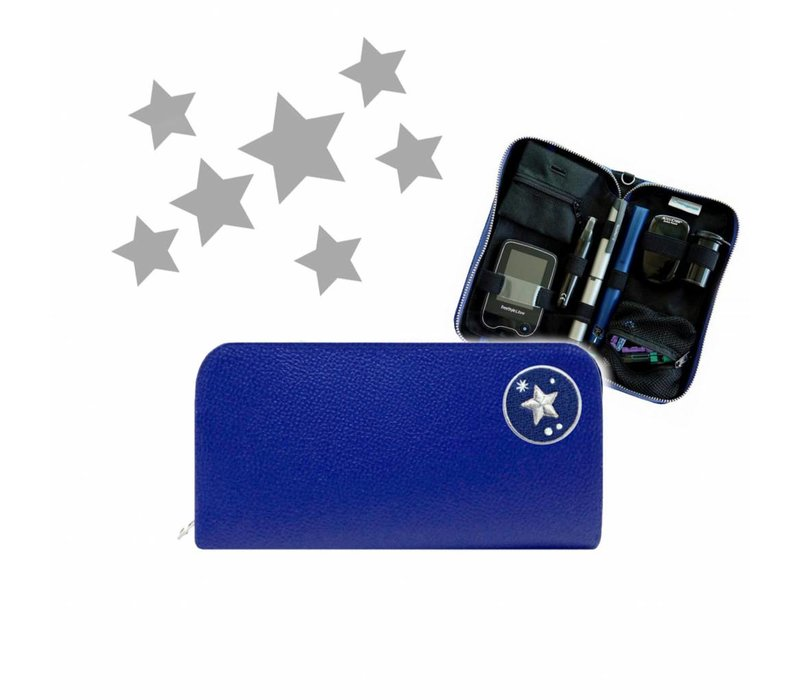 KIDS Case  - Blue STAR (inkl. Patch)