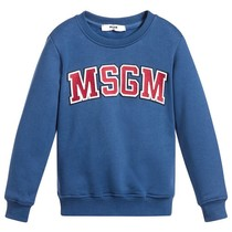 MSGM Sweater Felpa Blue
