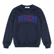 MSGM Sweater Felpa Navy