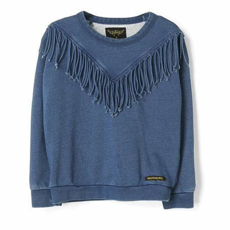 Turner Indigo Fringes