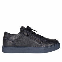 Antony Morato KIDS leren sneakers zipper