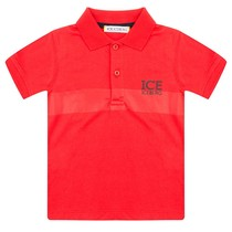 Iceberg Polo Rosso Red