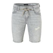 Melange grey short