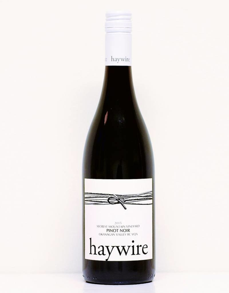 Haywire White Label Pinot Noir