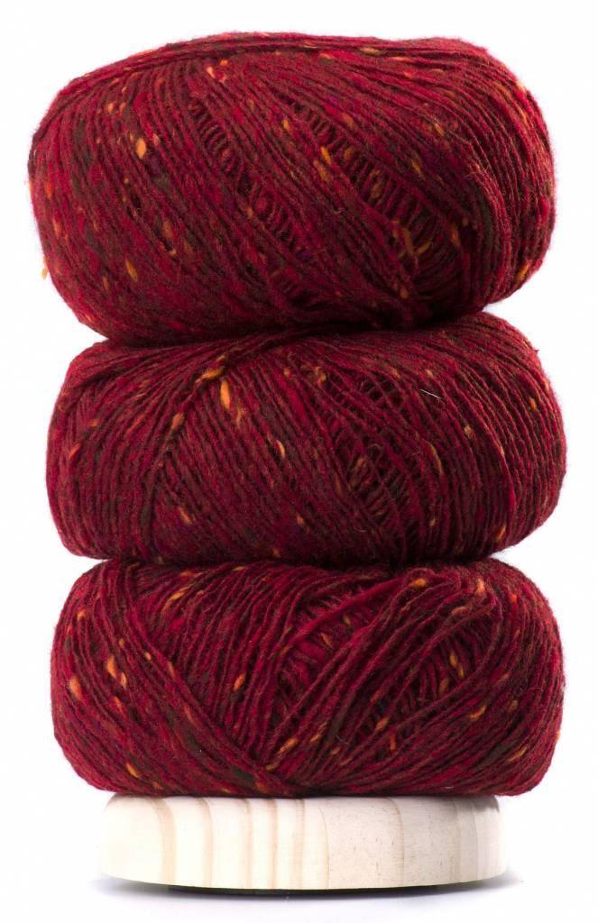 Geilsk Geils Tweed - Dark Red