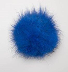 Pompon Groot Fel Blauw