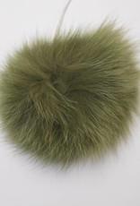 Pompon Groot Donker Groen
