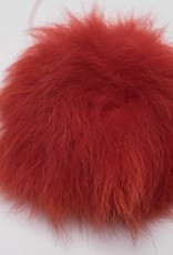 Pompon Groot Rood