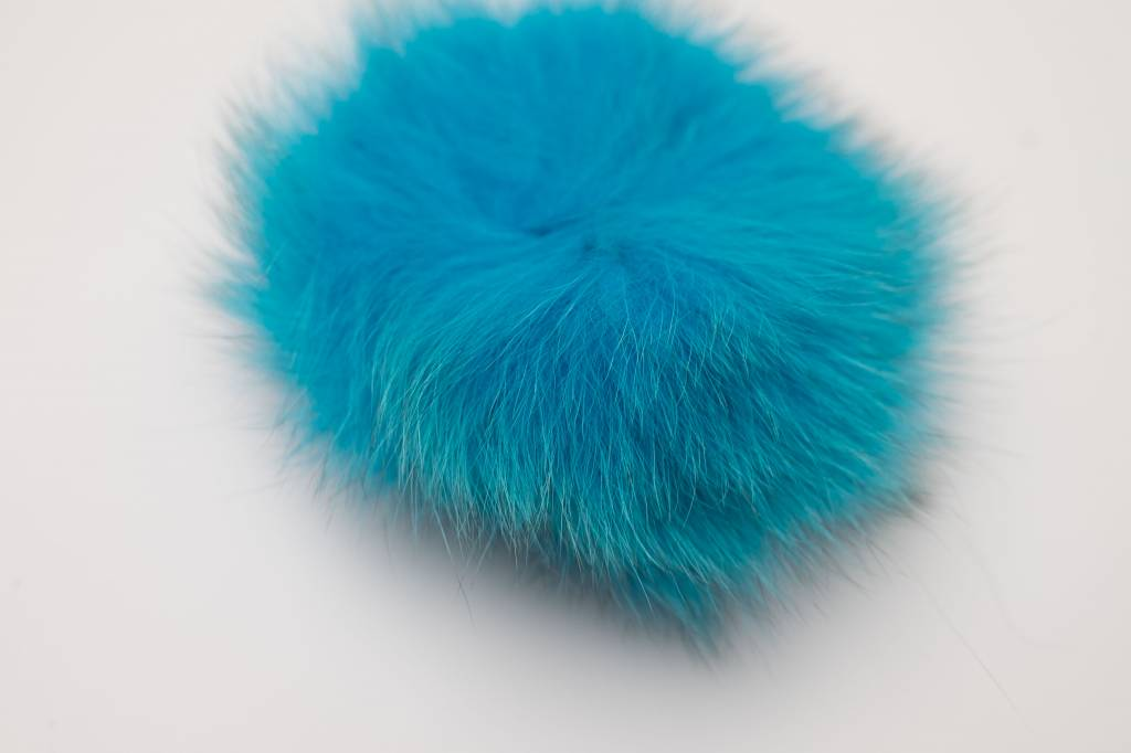 Pompon Groot lichtblauw