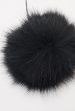 Pompon Groot Zwart