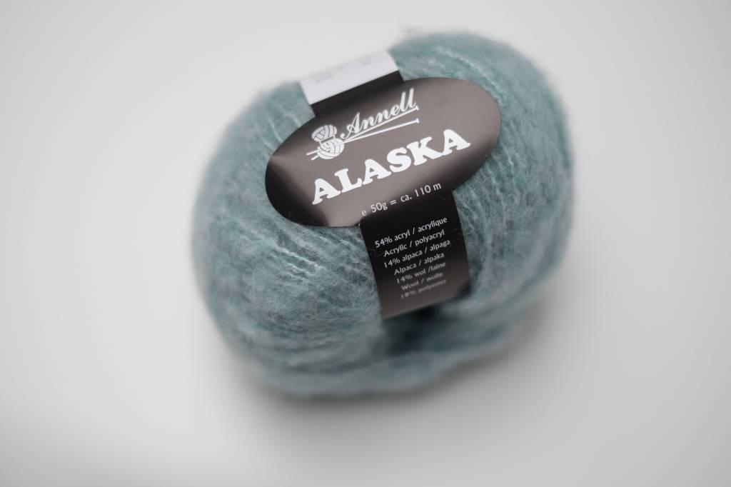 Annell Annell Alaska - watergroen-wit 4222