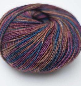 Tourcoing sokkenwol paars