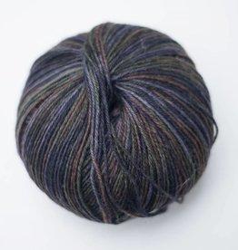 Tourcoing sokkenwol blauw