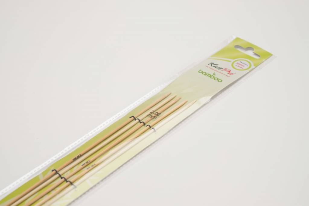 KnitPro KnitPro Bamboo Sokkennaalden 20cm
