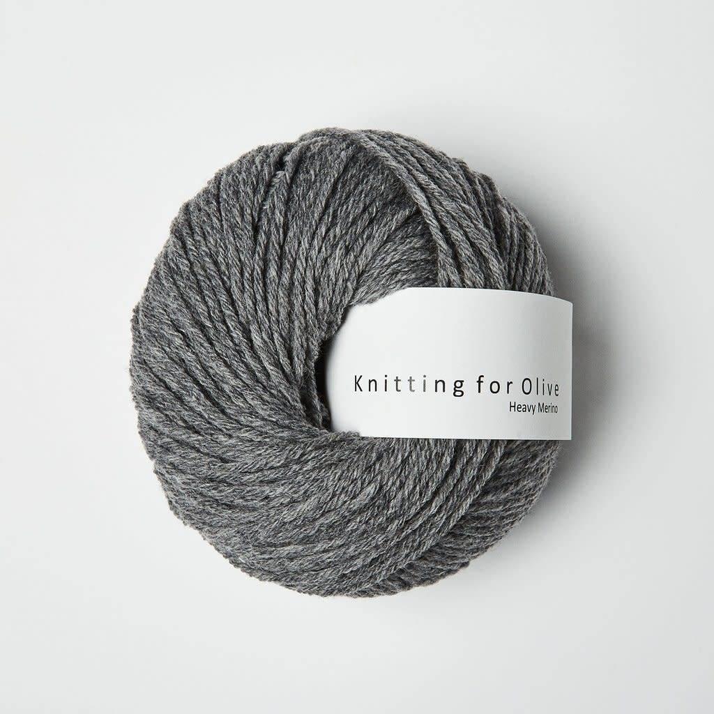 knitting for olive Knitting for Olive - Heavy Merino Ara gray