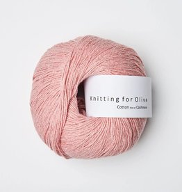 Knitting for Olive Cotton-Cashmere - Strawberry Icecream