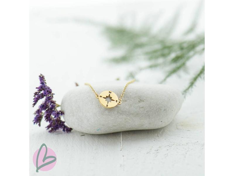 ZAG Bijoux armband goud kompas