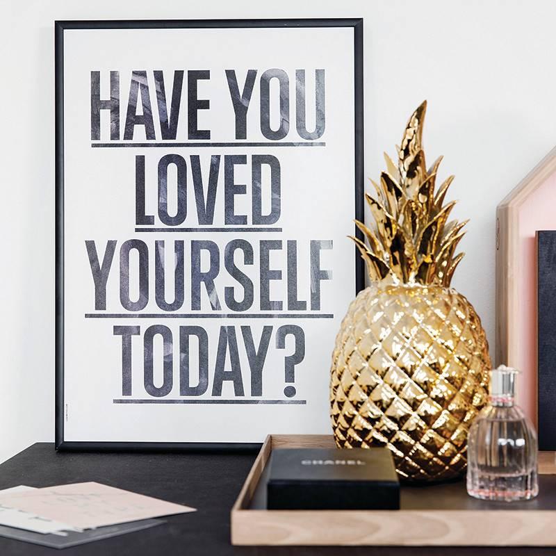 I Love My Type Affiche 'Loved yourself?'