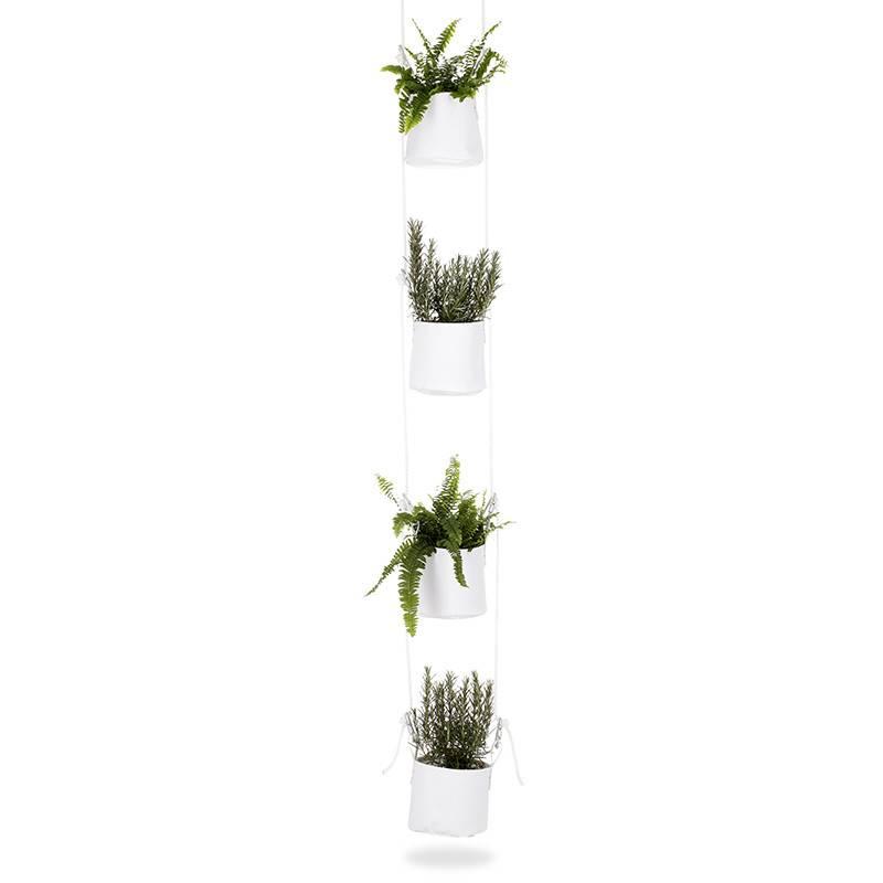 TRIMM Copenhagen Pot de fleurs verticale (set de 4)