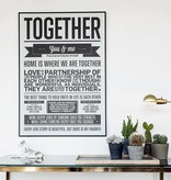 I Love My Type Affiche 'Together'