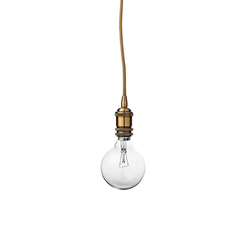 Bloomingville Lampe suspendue (finition bronze)