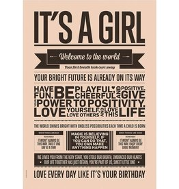 I Love My Type Affiche 'It's a girl'