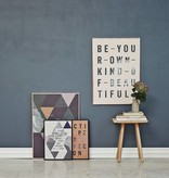 I Love My Type Affiche 'Be your own kind'