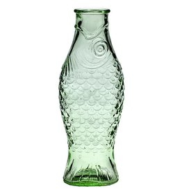 Serax Fles 1 liter Fish&Fish transparant groen