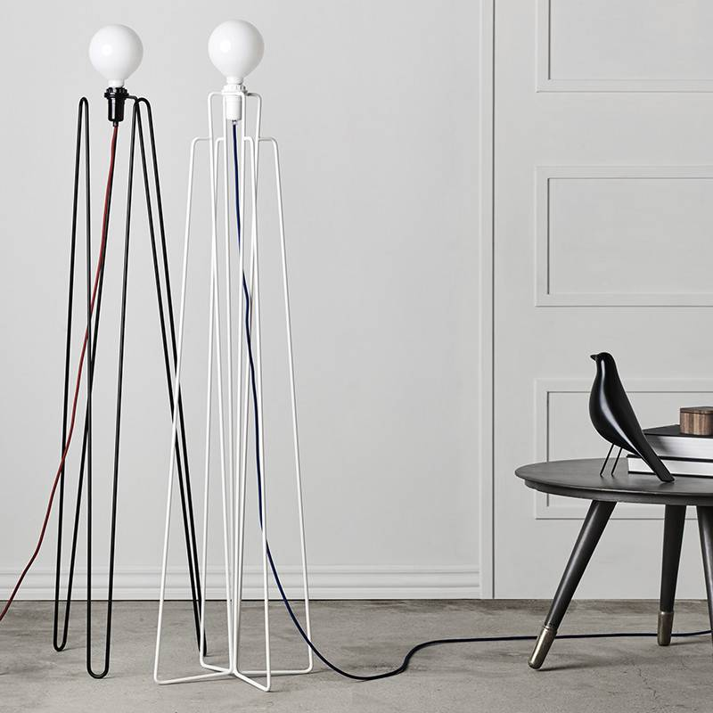 Grupaproducts Lampadaire Model1 blanc