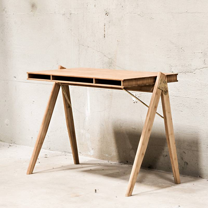 We Do Wood Field Desk bureau