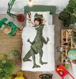 SNURK beddengoed Housse de couette Dino