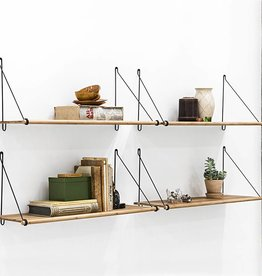 We Do Wood Legplank Loop Shelf