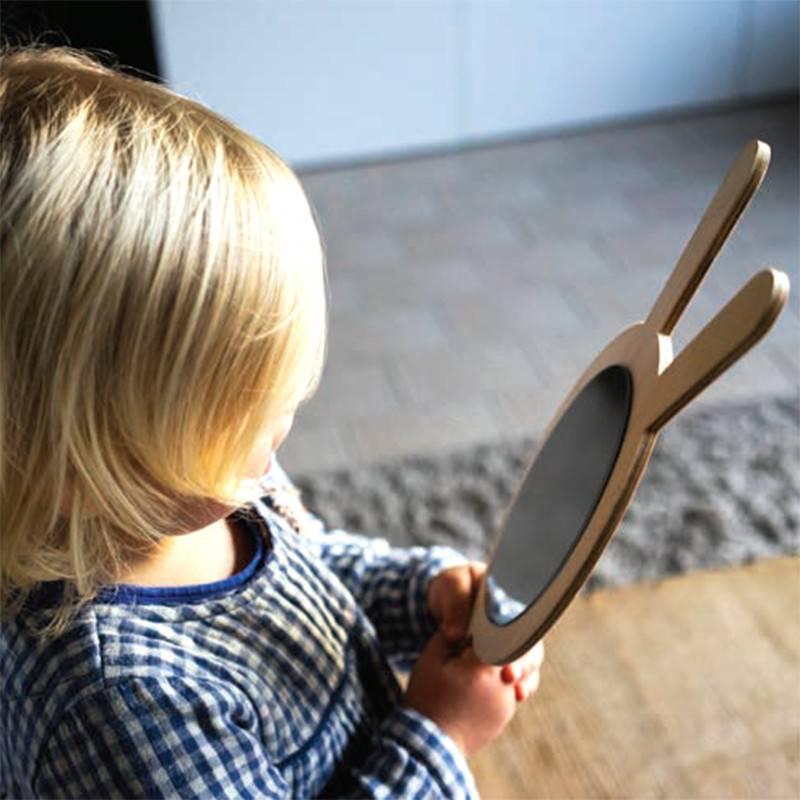 Miniwoo Miroir en bois