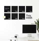 WEEW Design Weekly planner - Mind Wall #W