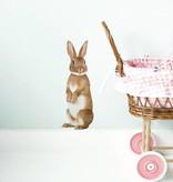 KEK Amsterdam Muursticker konijn