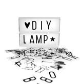A Little Lovely Company Lightbox A5 Black
